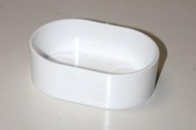 Plastiknapf oval 10 cm
